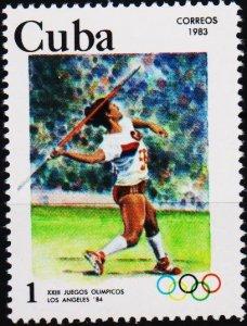 Cuba. 1983 1c S.G.2873 Fine Used