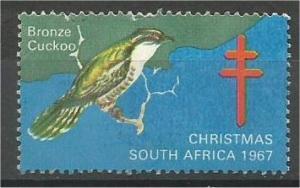 SOUTH AFRICA, 1967 mint, Christmas, Red Cross, Scott
