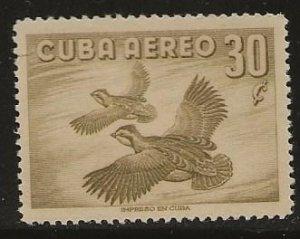 CUBA SC # C142     MNH