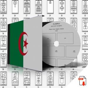 ALGERIA STAMP ALBUM PAGES 1924-2011 (165 PDF digital pages)