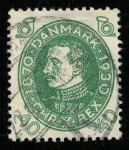1930, DANMARK, Birth of King Christian X, 40 ORE, MC #194 (T-7315)