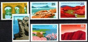 Australia #641-6  MNH CV $4.05 (X3275)