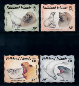 [71904] Falkland Islands 1987 Marine Life Sea Lion Seal  MNH