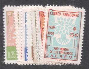 Paraguay WRY SC 560-4, C265-8 MOG (7dfn)