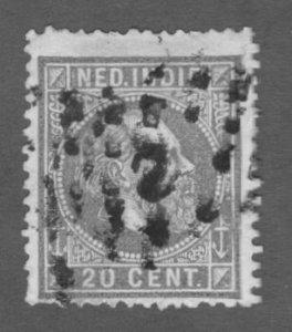 R84-0003 NETHERLANDS INDIES 12 USED SCV $3.75 BIN $1.75