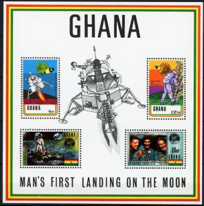 Ghana #389a Lunar Landing - MNH