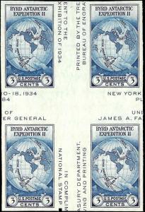 768 Mint,NGAI,NH... Cross Gutter Block of 4... SCV $20.00