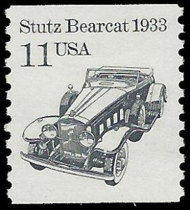 #2131 11c Transportation Issue Stutz Bearcat 1933 1985 Mint NH