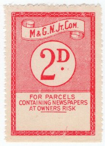 (I.B) Midland & Great Northern Railways Joint Committee : Newspapers 2d