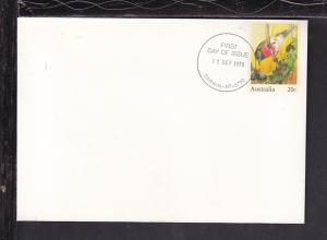 Australia Bird 1978 U/A FDC Postal Envelope