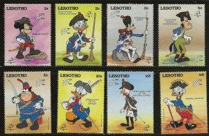 Lesotho (1989)  - Scott # 710 - 717,  MNH