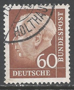GERMANY 758 VFU Z3910-1