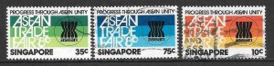 SINGAPORE SG389/91 1980 ASEAN FINE USED