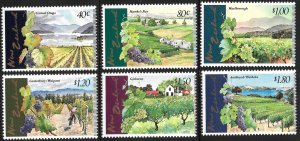 New Zealand # 1429 - 34 Mint Never Hinged