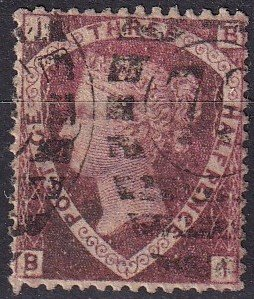 Great Britain #32 F-VF Used Signed CV $65.00 (Z9100)
