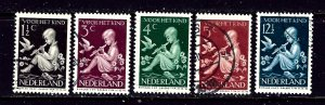 Netherlands B108-12 Used 1938 complete set