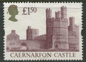 Great Britain -Scott 1446 - QEII - Castles -1992 - Used - Single  £1.50p  Stamp