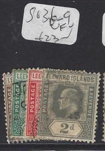 LEEWARD ISLANDS (P1610B)  KE  SG 26-9   VFU