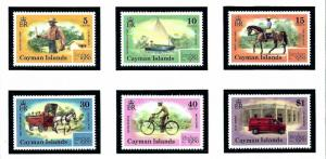Cayman Is 437 42 MNH 1980 Mail Service