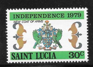 St Lucia Mint Never Hinged [4179]