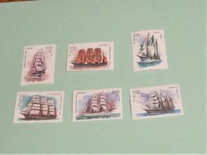 Russia - 4981-96, MNH Set. Ships. SCV - $2.10