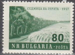 Bulgaria #981  F-VF Unused