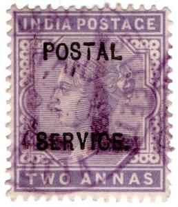 (I.B) India Revenue : Postal Service 2a