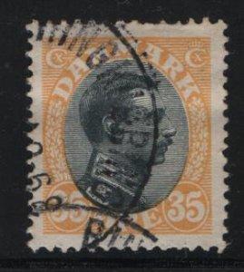 DENMARK, 115, USED, 1913-28, KING CHRISTIAN X