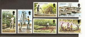 Pitcairn 163-168 MNH