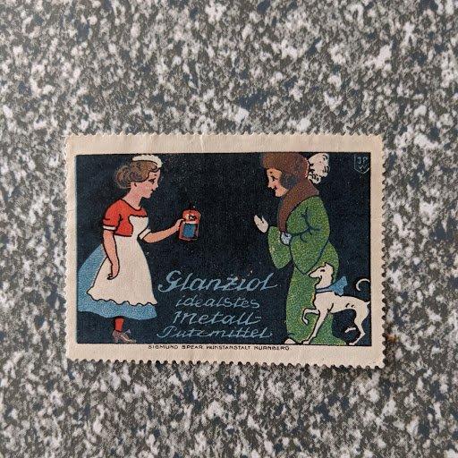 German cinderella, XF, CV $4.25