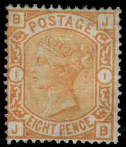 SG156, 8d orange, M MINT. Cat £1800. JB