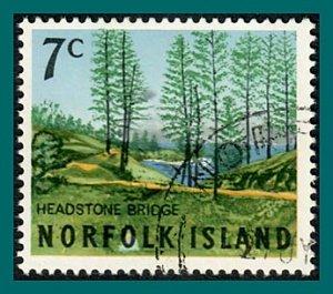 Norfolk Island 1966 Views, 7c used #88,SG72