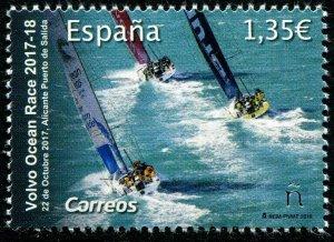 HERRICKSTAMP NEW ISSUES SPAIN Sc.# 4291 Volvo Ocean Race