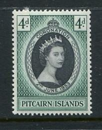 Pitcairn Is #19 Mint