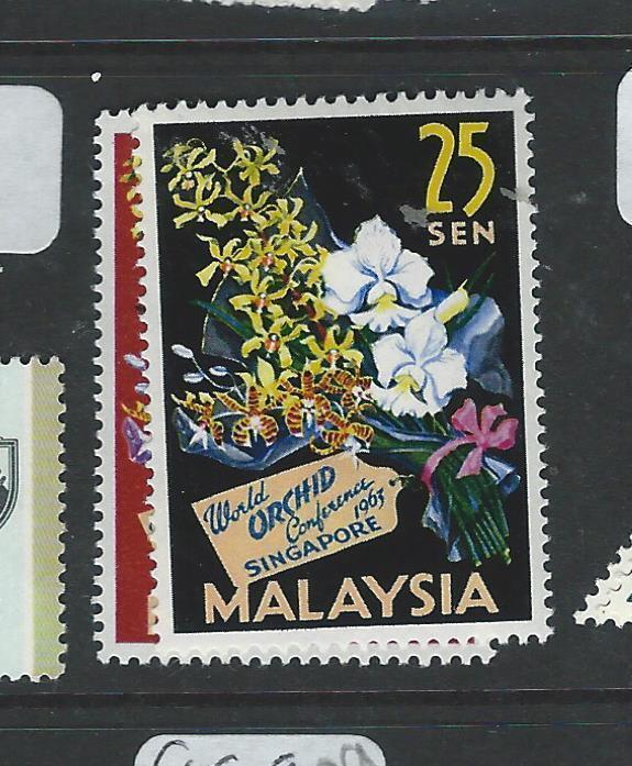 MALAYA MALAYA FEDERATION (P0908B) ORCHID SG24-5  MOG