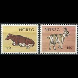 NORWAY 1981 - Scott# 779-80 Milk Producers Set of 2 NH