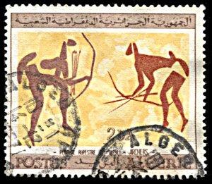 Algeria 367, used, Wall Paintings