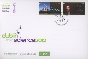Ireland 1974-5 FDC cover science (2110 195)