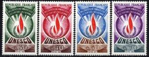 France #2o9-2o12  MNH CV $3.00  (P624)