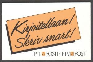 FINLAND HA19R (Scott 713a), No. 2090 Booklet, VF