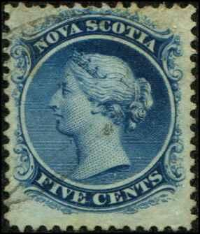 Nova Scotia SC# 10 Victoria Light Cancellation SCV $12.00