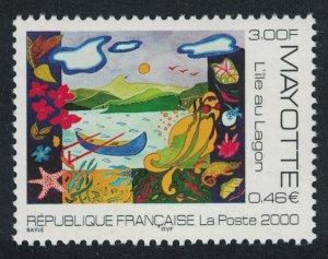 Mayotte L'ile au Lagon 1v SG#105