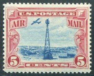 HERRICKSTAMP UNITED STATES Sc.# C11 1928 Air Mail Stamp (Beacon) Superb NH