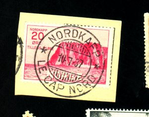 Norway #B2 Used F-VF Cat $75