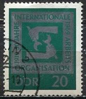 Germany DDR; 1969: Sc. # 1152: O/Used CTO Single Stamp