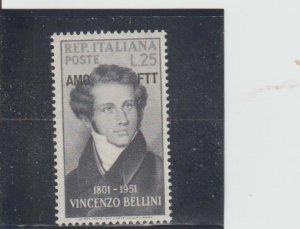Trieste  Scott#  141  MH  (1952 Overprinted)
