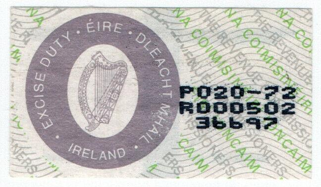 (I.B) Ireland Revenue : Cigarette Duty Seal