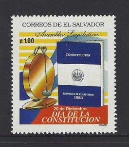 EL SALVADOR CONSTITUTION DAY Sc 1454 MNH 1996