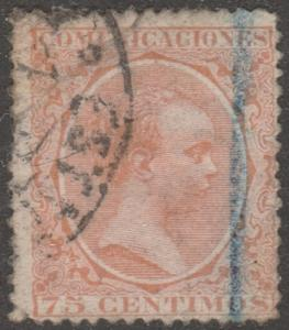 Spaim, Scott# 267, used, orange, 75 centi, #M415