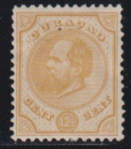 Netherland Antilles 1886 SC 8 MLH